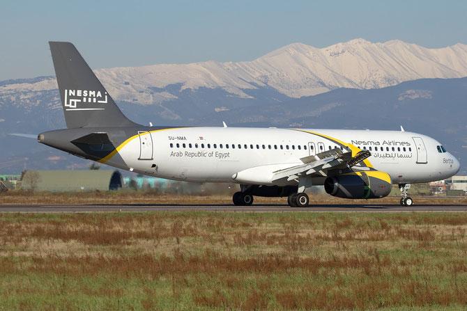 SU-NMA A320-232 1697 Nesma Airlines