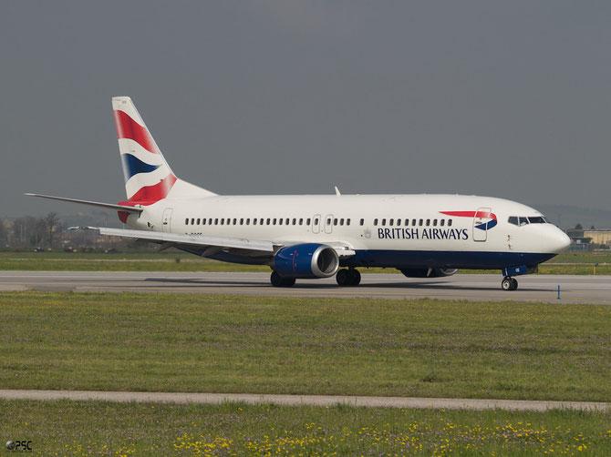 Boeing 737 - MSN 25350 - G-DOCE @ Aeroporto di Verona © Piti Spotter Club Verona