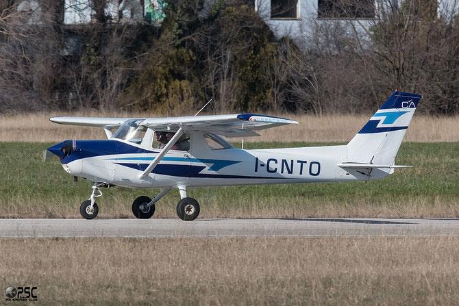 I-CNTO - Cessna 152 - Private - @ Aeroporto Verona Boscomantico © Piti Spotter Club Verona