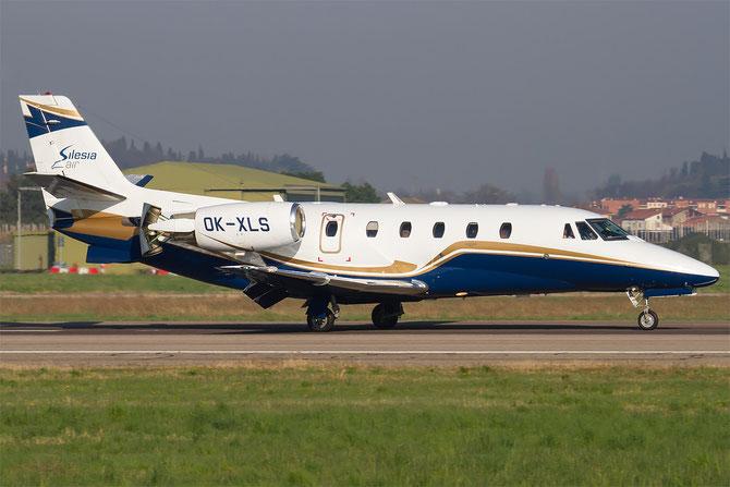 OK-XLS Ce560XLS+ 560-6060 Silesia Air @ Aeroporto di Verona © Piti Spotter Club Verona