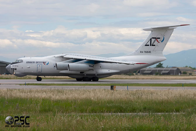 Aviacon Zitotrans Ilyushin IL-76TD - RA-76846 @ Aeroporto di Verona © Piti Spotter Club Verona