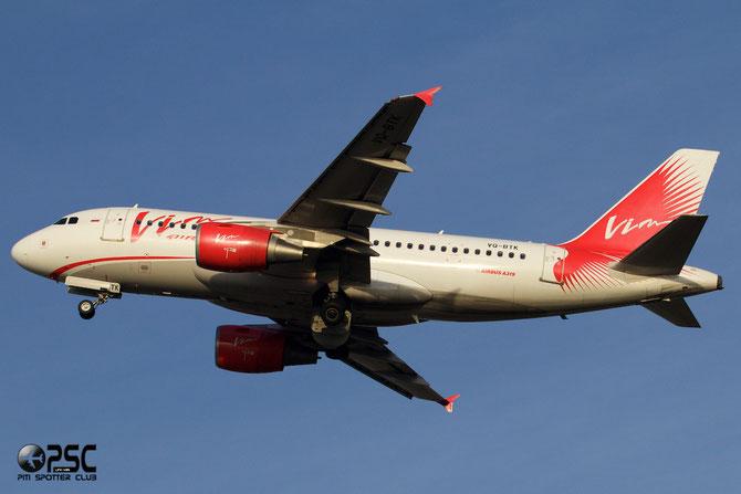 VQ-BTK A319-111 3403 VIM Airlines @ Aeroporto di Verona © Piti Spotter Club Verona