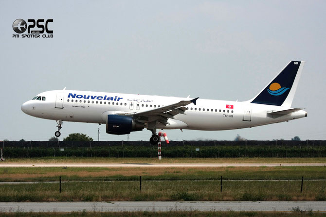 TS-INB A320-214 1175 Nouvelair Tunisie