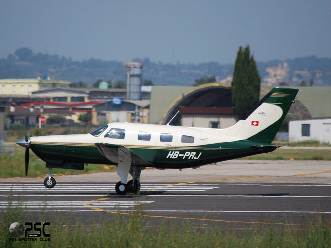 HB-PRJ Piper PA-46-350P Malibu PA46 4636309 L1P   4B295F Mirage SRL
