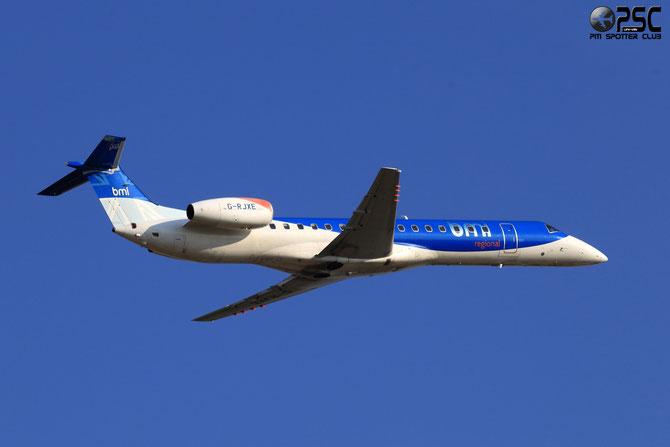 Embraer 135/145 - MSN 245 - G-RJXE @ Aeroporto di Verona © Piti Spotter Club Verona