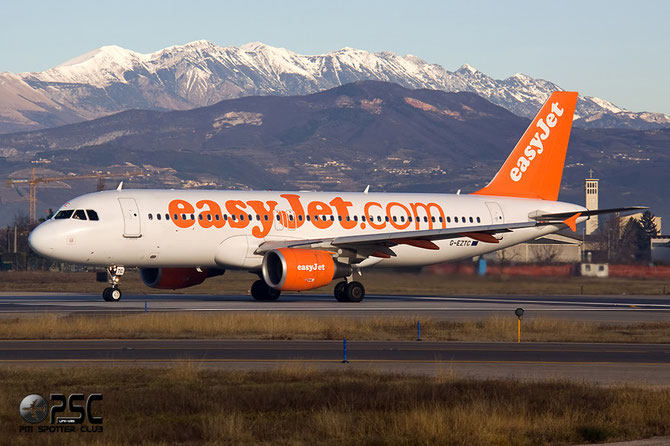 Airbus A320 - MSN 3871 - G-EZTC @ Aeroporto di Verona © Piti Spotter Club Verona