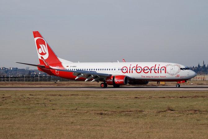 D-ABKK B737-86J 37753/3261 Air Berlin @ Aeroporto di Verona © Piti Spotter Club Verona