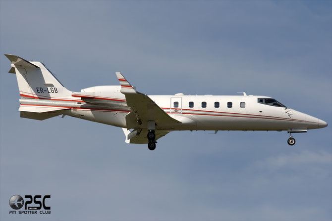 ER-LGB Learjet 60 60-255 Nobil Air