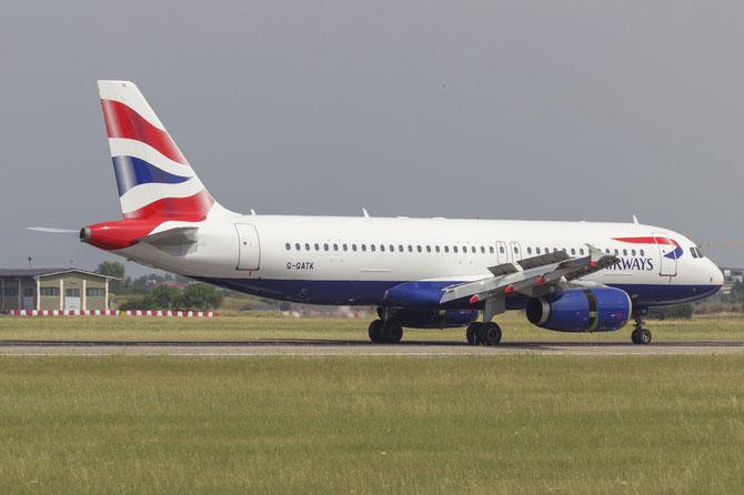 G-GATK A320-232 1902 British Airways @ Aeroporto di Verona © Piti Spotter Club Verona