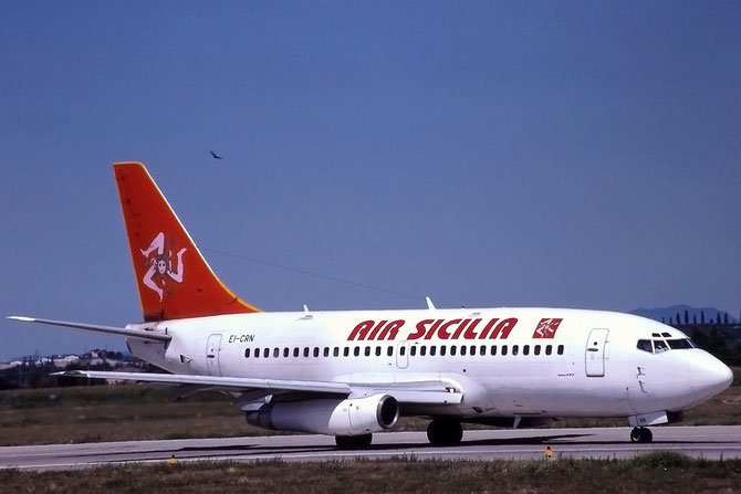 Air Sicilia ha operato a Verona con 737-200, Fokker 70 e ATR42