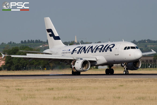 OH-LVL A319-112 2266 Finnair @ Aeroporto di Verona © Piti Spotter Club Verona
