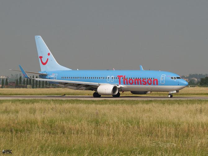 Boeing 737 Next Gen - MSN 37265 - G-TAWD  @ Aeroporto di Verona © Piti Spotter Club Verona