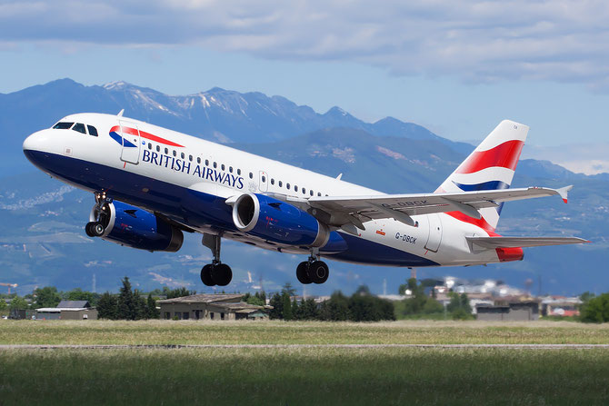 Airbus A319 - MSN 3049 - G-DBCK  @ Aeroporto di Verona © Piti Spotter Club Verona