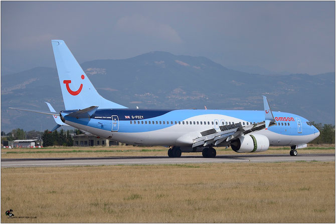 G-FDZY B737-8K5 37261/3844 Thomson Airways @ Aeroporto di Verona © Piti Spotter Club Verona