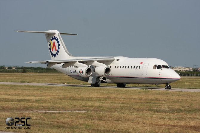ZA-MEV BAe146-300 E3197 Albanian Airlines