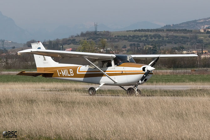 I-MILB Cessna 172M Skyhawk @ Aeroporto Verona Boscomantico © Piti Spotter Club Verona