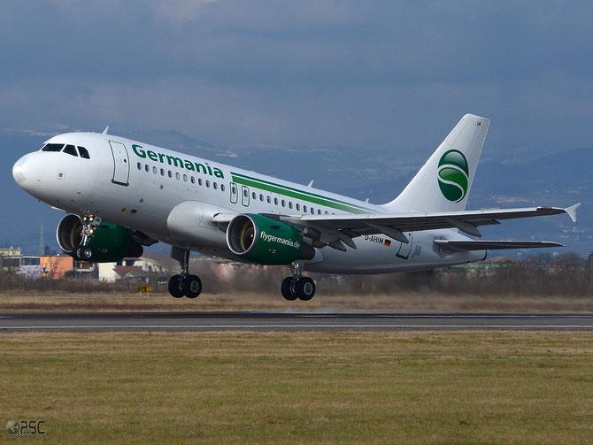 D-AHIM A319-112 3818 Germania Flug @ Aeroporto di Verona © Piti Spotter Club Verona
