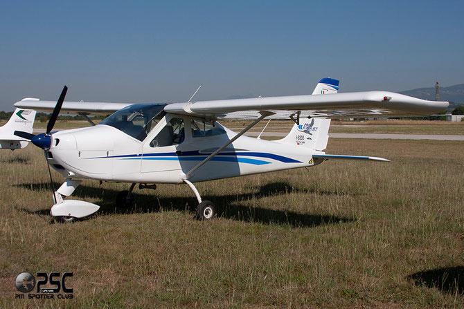 I-9305 - Tecnam P92 Eaglet @ Aeroporto Verona Boscomantico © Piti Spotter Club Verona