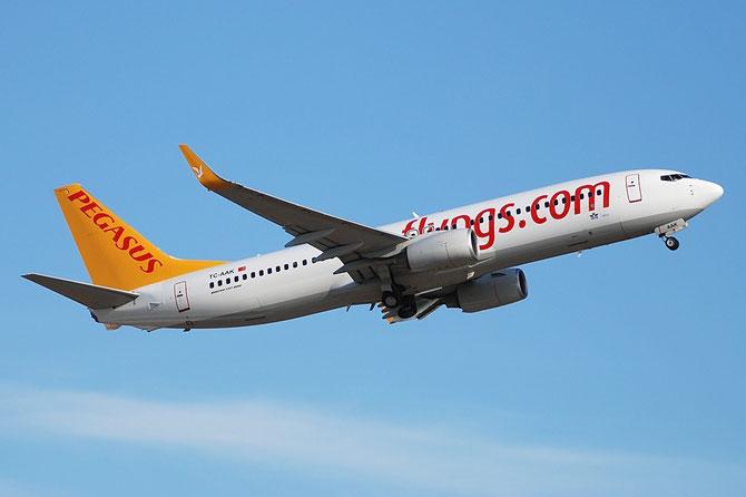 TC-AAK B737-8FH 35094/2195 Pegasus Airlines