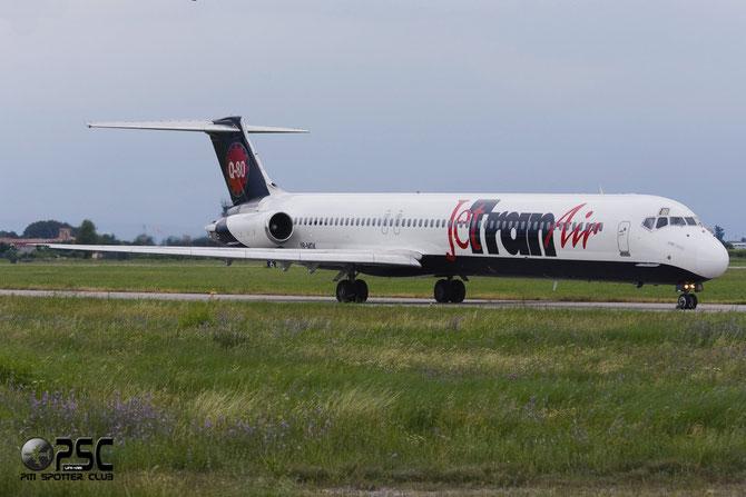 YR-MDK McDonnell Douglas MD-80/90 - MSN 49139 - YR-MDK (JetranAir livery) @ Aeroporto di Verona © Piti Spotter Club Verona