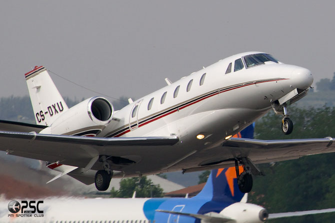 CS-DXU Ce560XLS 560-5775 NetJets Europe