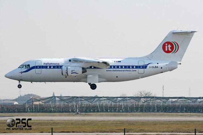 I-CLBA BAe146-RJ85 E2300 Italiatour Airlines
