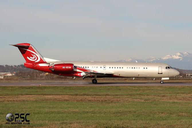 OE-IID Fokker 100 11368 MJet