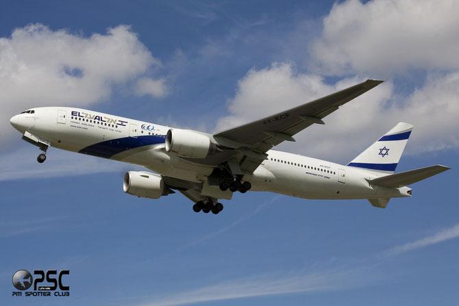 4X-ECF B777-258ER 36084/655 El Al Israel Airlines
