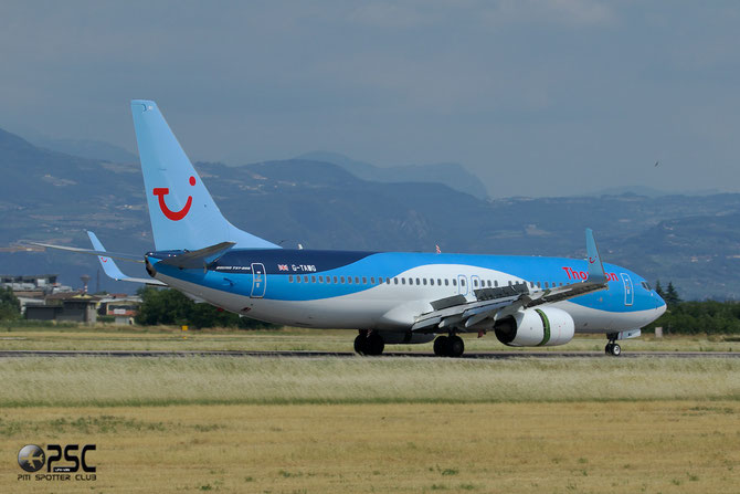 G-TAWG B737-8K5 37266/3967 Thomson Airways