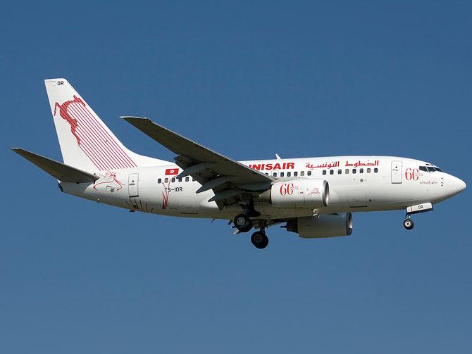 TS-IOR B737-6H3 29502/816 Tunis Air @ Aeroporto di Verona © Piti Spotter Club Verona