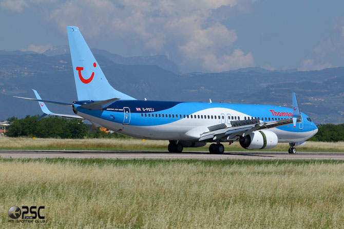 G-FDZJ B737-8K5 34690/2184 Thomson Airways