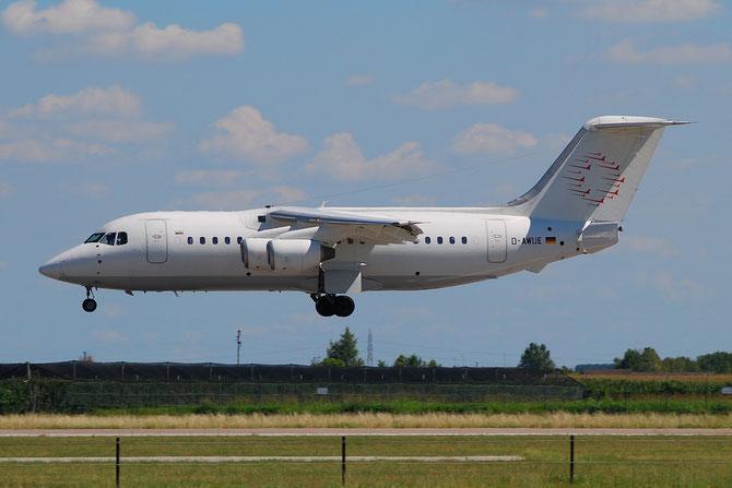 D-AWUE BAe146-200 E2050 WDL Aviation @ Aeroporto di Verona © Piti Spotter Club Verona