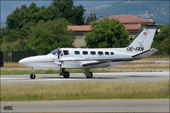 OE-FAN Cessna 441 441-0242 Bach Flugbetriebs GmbH