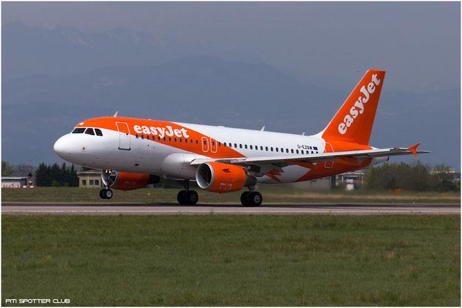 G-EZBW A319-111 3134 EasyJet Airline @ Aeroporto di Verona © Piti Spotter Club Verona