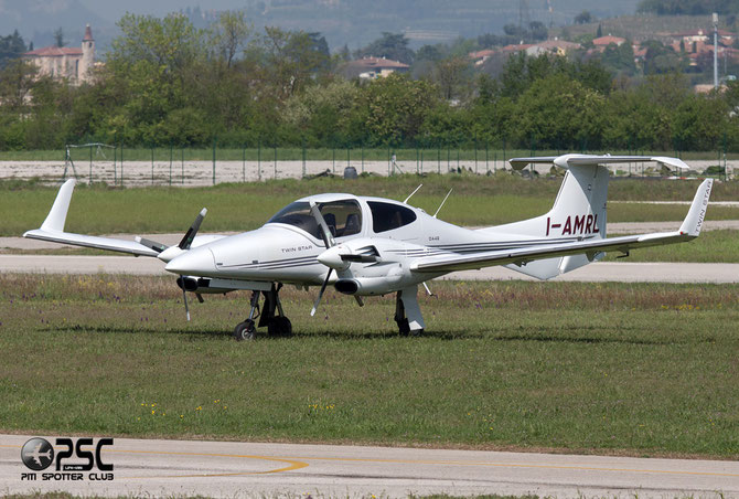 I-AMRL Diamond Aircraft Industries DA-42 Twin Star DA42 42.374