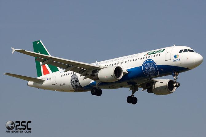 EI-DSM A320-216 3362 Alitalia 13jan09 Air One c/s til mar14 / Special Calabria c/s mar14