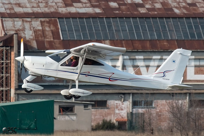 I-B309 - Tecnam P92 Echo Classic @ Aeroporto Verona Boscomantico © Piti Spotter Club Verona