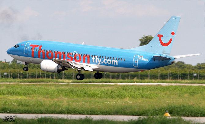 Boeing 737 - MSN 28594 - G-THOL @ Aeroporto di Verona © Piti Spotter Club Verona