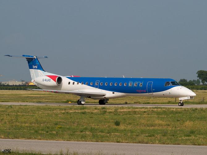 Embraer 135/145 - MSN 207 - G-RJXD  @ Aeroporto di Verona © Piti Spotter Club Verona