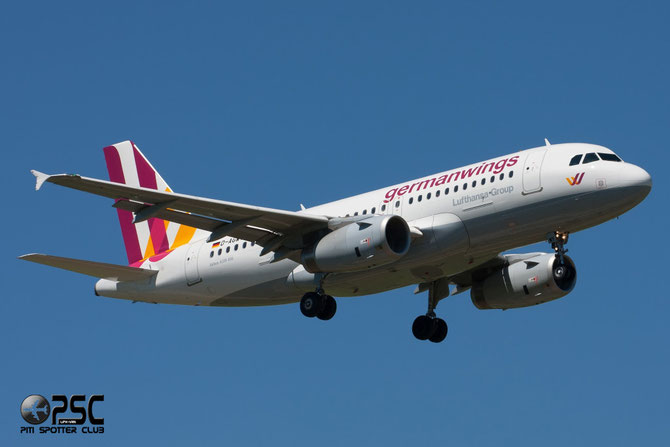 D-AGWY A319-132 5941 Germanwings