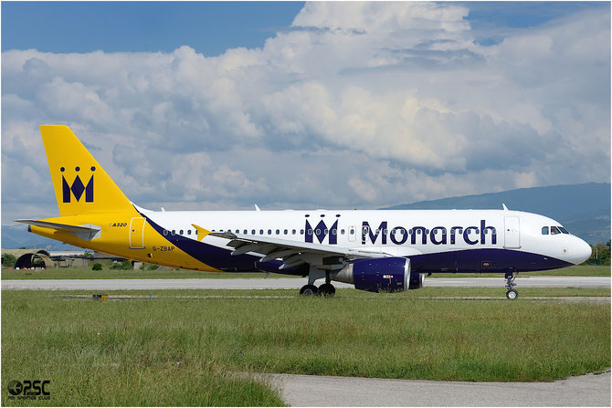 G-ZBAP A320-214 1605 Monarch Airlines