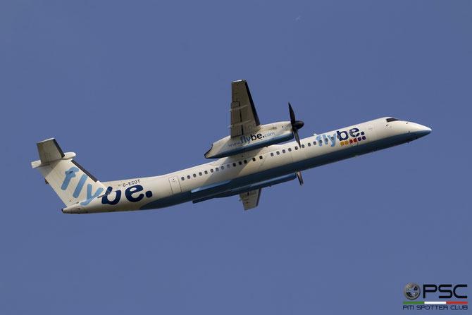 G-ECOT DHC-8-402 4251 Flybe - British European @ Aeroporto di Verona © Piti Spotter Club Verona