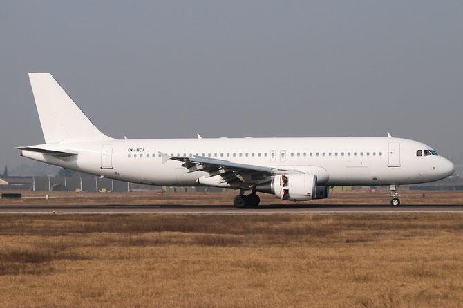 OK-HCA - Airbus A320 - MSN 4699 - OM-HCA  Airline Travel Service Slovakia @ Aeroporto di Verona © Piti Spotter Club Verona