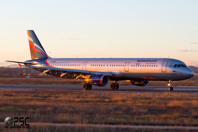 Airbus A321 - MSN 4074 - VQ-BED  @ Aeroporto di Verona © Piti Spotter Club Verona