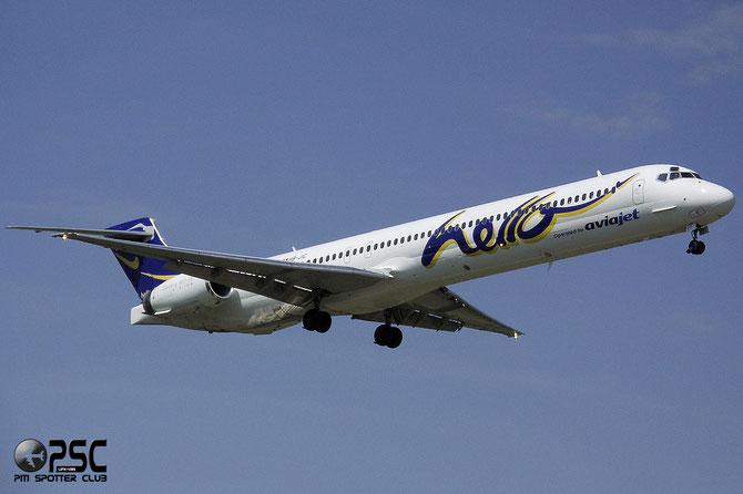 HB-JIC MD-90-30 53576/2195 Hello @ Aeroporto di Verona © Piti Spotter Club Verona