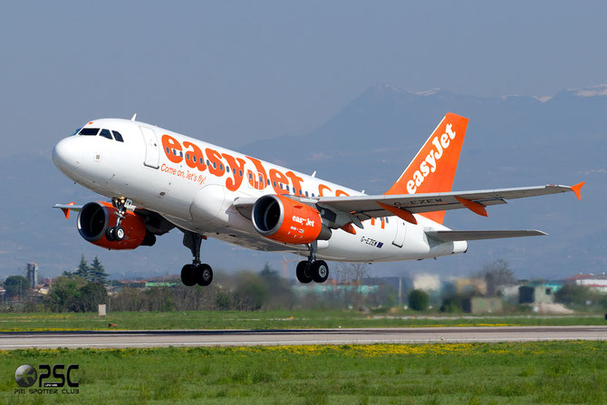 G-EZEW A319-111 2300 EasyJet Airline
