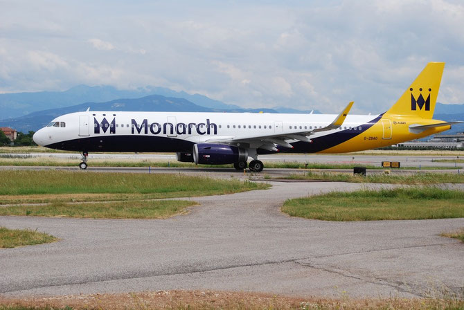 G-ZBAO A321-231 6126 Monarch Airlines