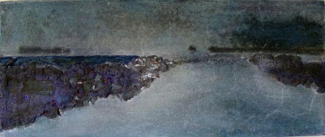 """EASTERLITTENS ""  BRONS GEPATINEERD ( 42x18 cm )"