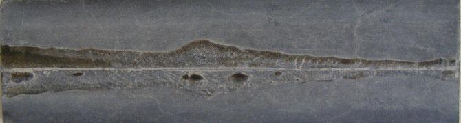 """""""IJS-LAND"""" BRONS GEPATINEERD  ( 36x10 cm )"""