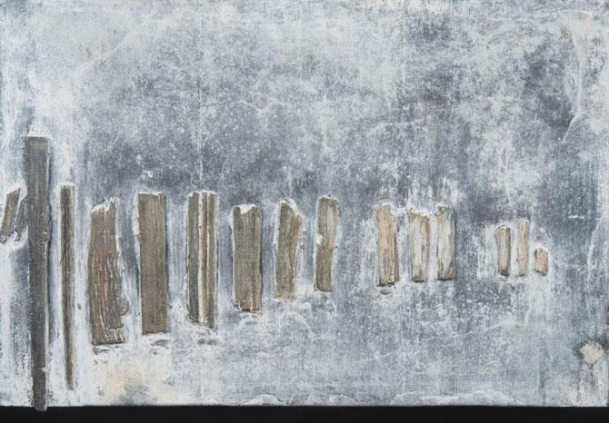 """''ZONDER TITEL NR1""""  BRONS GEPATINEERD  (37x25 cm) fotografie Bart Dertien"""